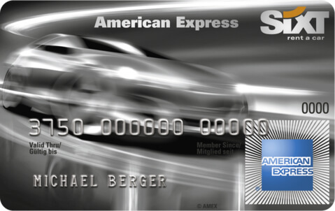 sixtcard amex classic klein