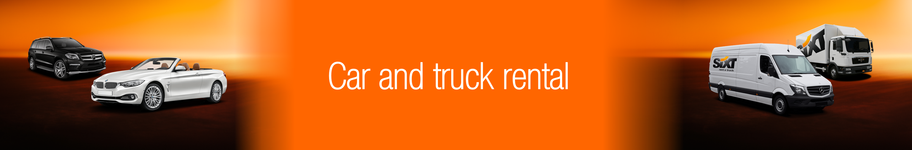 Car and truck rental