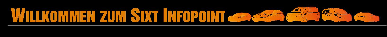 Infopoint Willkommen DE