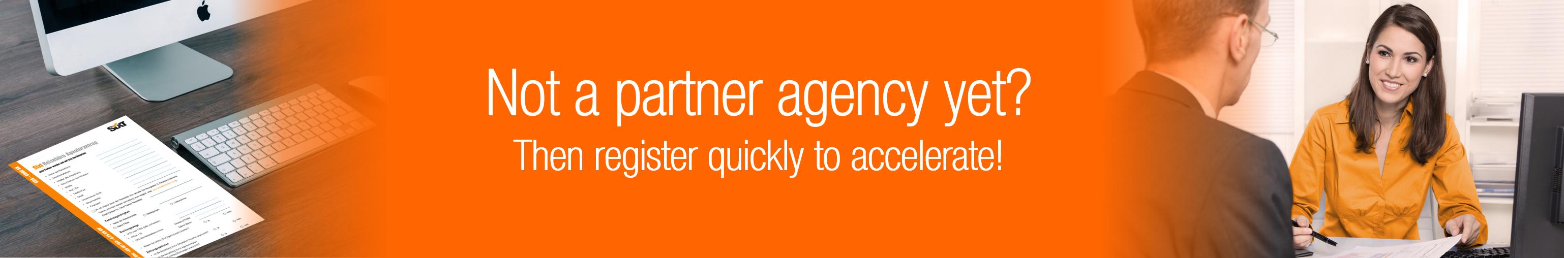 Not an agency partner yet