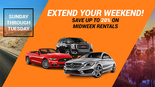 Content Box 190418 Midweek Car Rental Sale