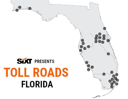 Florida Toll Roads Map NEW2