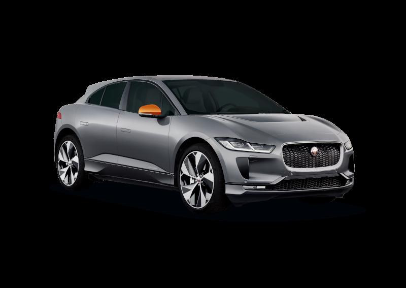 Jaguar I PACE 2018 Spiegel orange v.l3