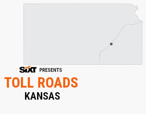 KANSAS Toll Roads Map NEW