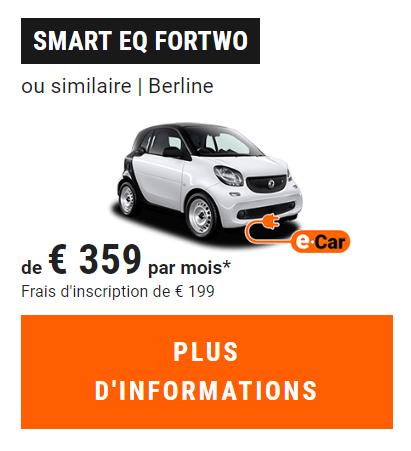 LLD Smart Electrique Sixt