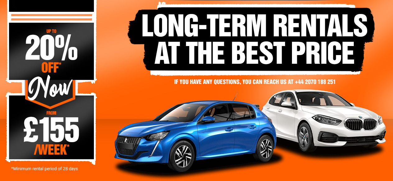 Long term car hire special 20 155