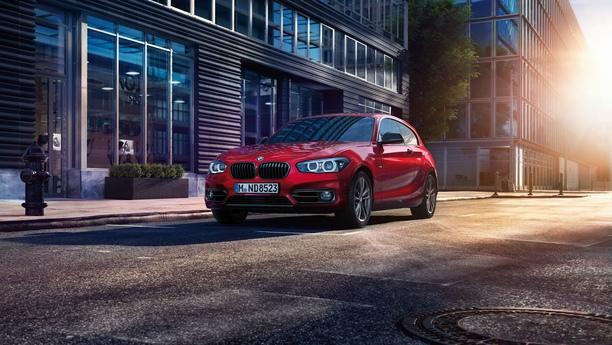BMW car street spring