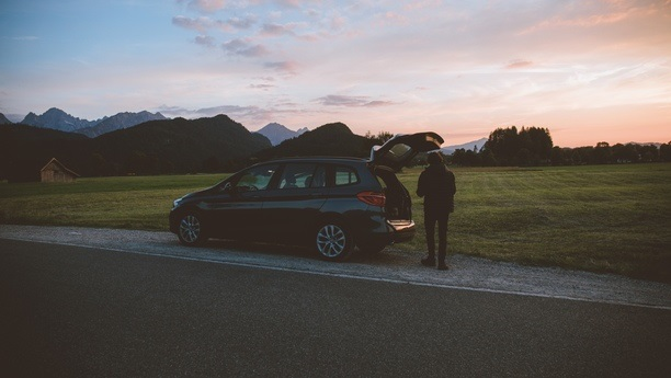 bmw 2series road autumn