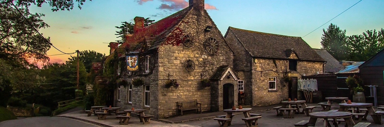 city header england village