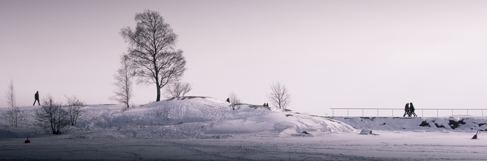 city header finland street snow