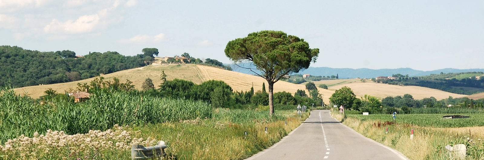city header italy road