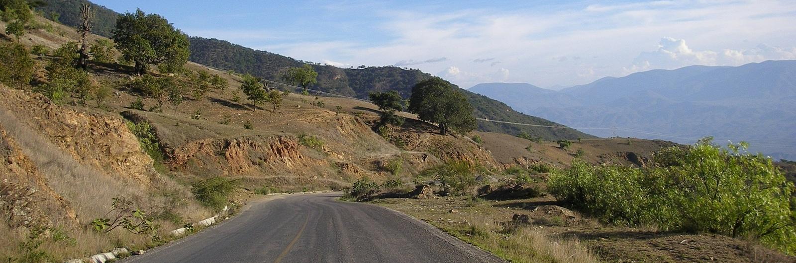 city header mexico road hill