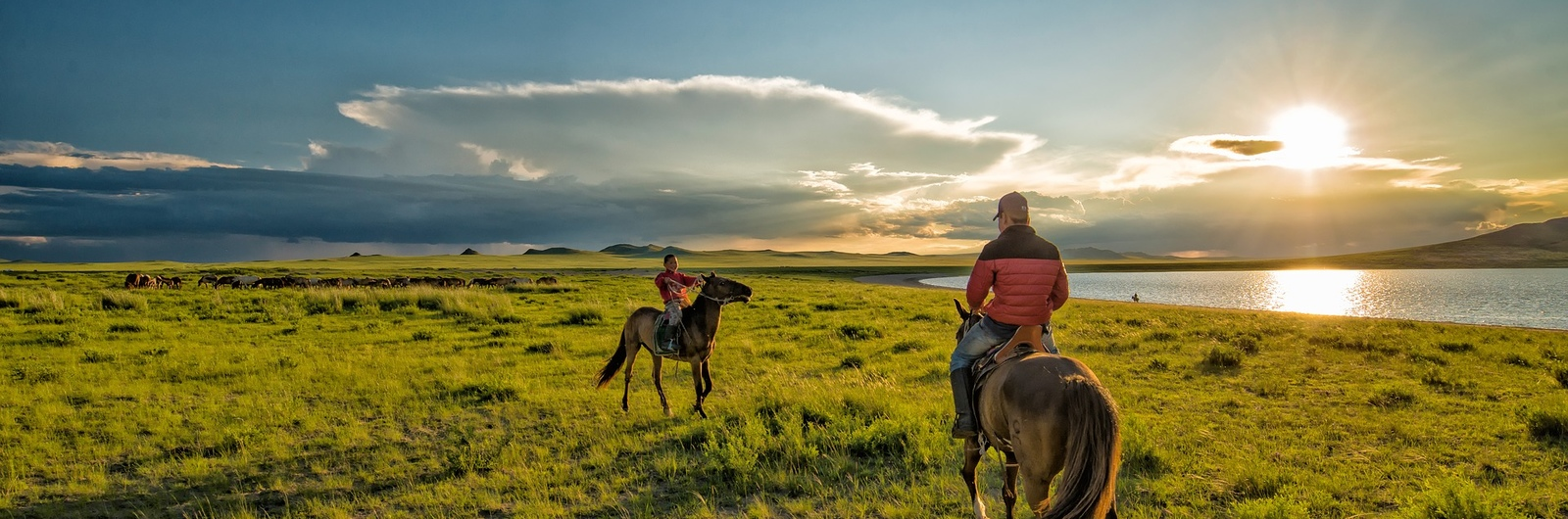 city header mongolia horseback