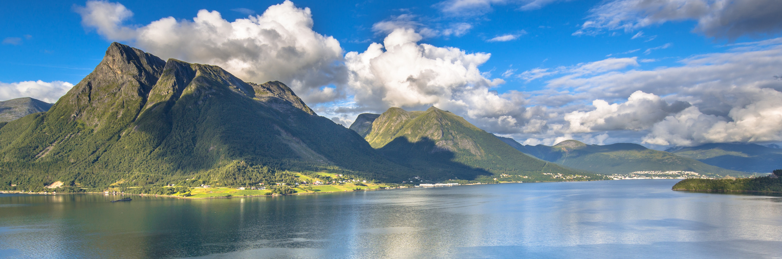 city header norway mountains