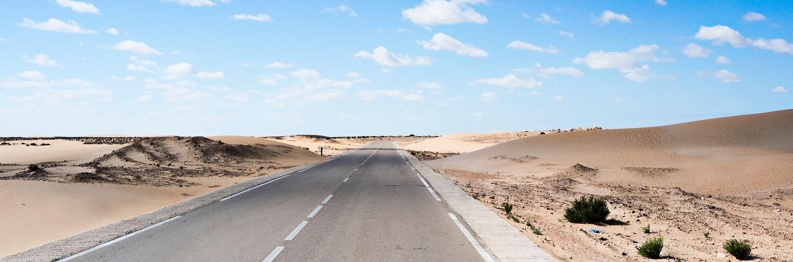 desert road header