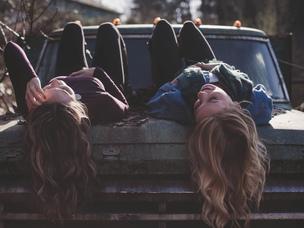 girls friends car