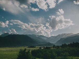 trip landscape mountains