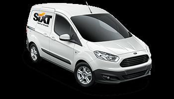 Ford Transit Courier Kasten white sx 2014