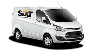 Ford Transit Custom Kasten white sx 2014