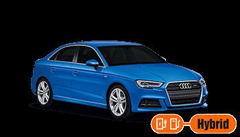 audi a3 limousine 4d blau 2020 hybrid