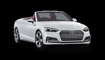 audi a5 cabrio 2d weiss offen 2018