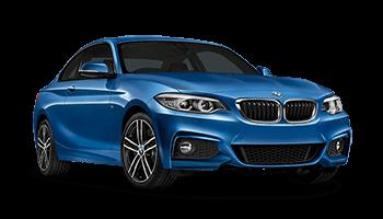 bmw 2er coupe 2d blau 2017
