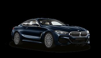 bmw 8er coupe 2d blau 2019