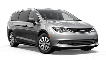 chrysler pacifica van silber 2018