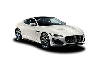 jaguar f type r coupe weiss 2020