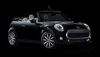 mini cooper cabrio 2d schwarz offen 2016