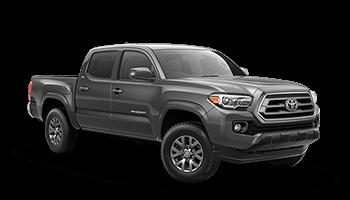 toyota tacoma pickup grey 2020