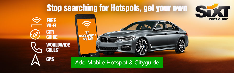 Sixt Connect Wifi Device