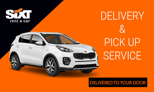 [Translate to .fr fr_FR:] Delivery and pick-up services by Sixt