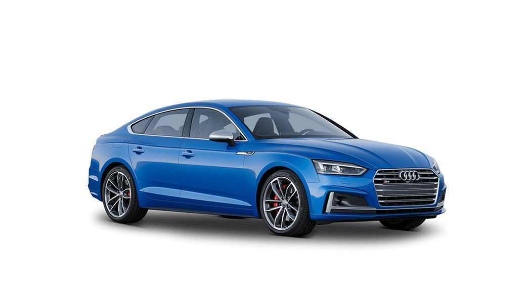 audi s5 sportback 5d blau 2017