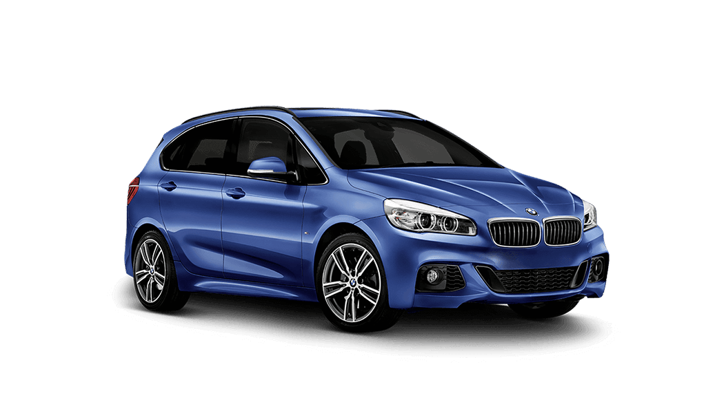 bmw 2er active tourer 5d blau 2014