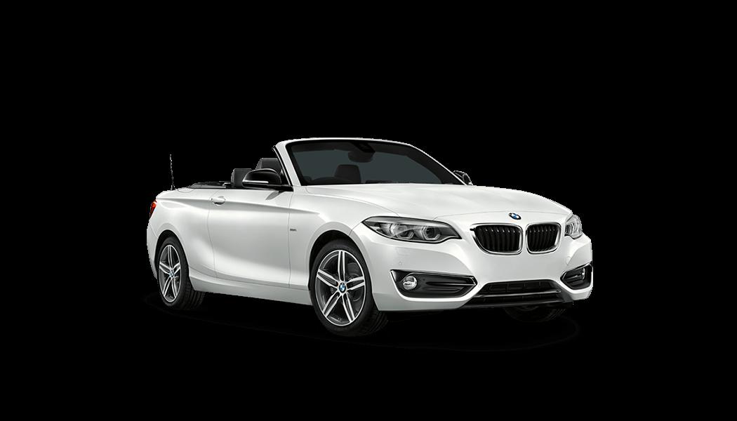 bmw 2er cabrio 2d weiss offen 2017