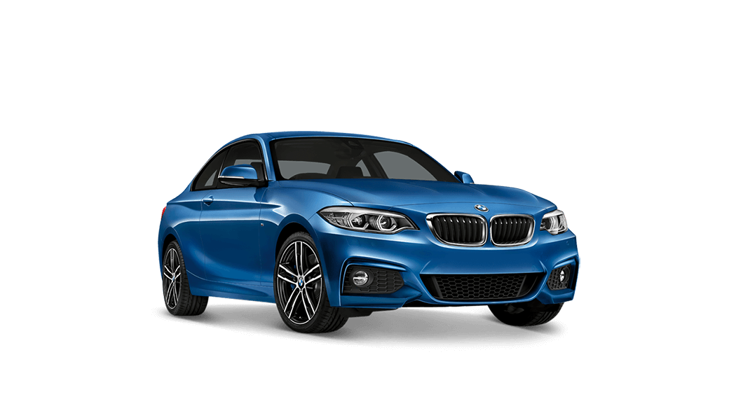 bmw 2er coupe 2d blau 2017