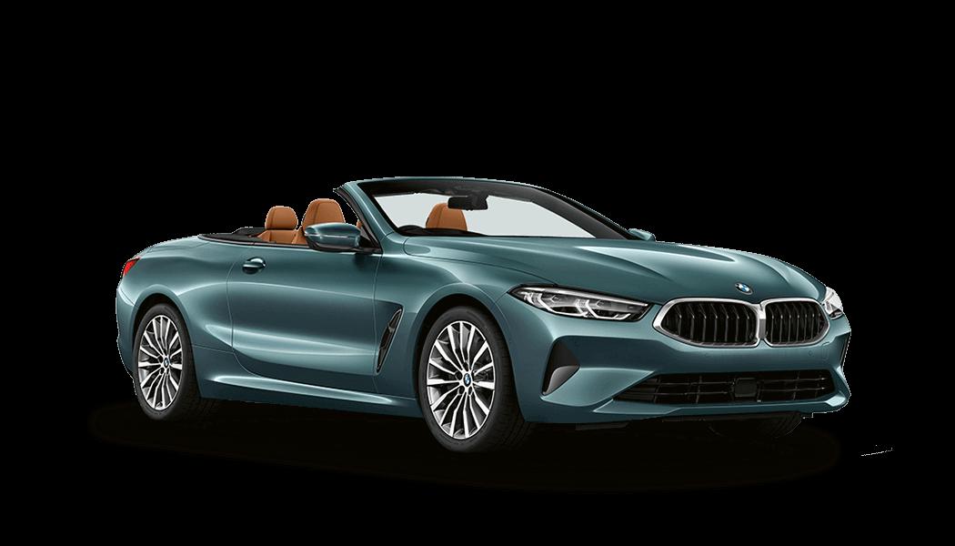 bmw 8er cabrio 2d gruen 2019 offen