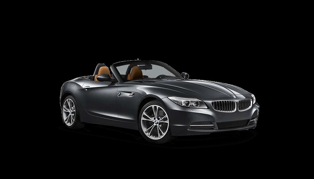 bmw z4 cabrio 2d grau offen 2014