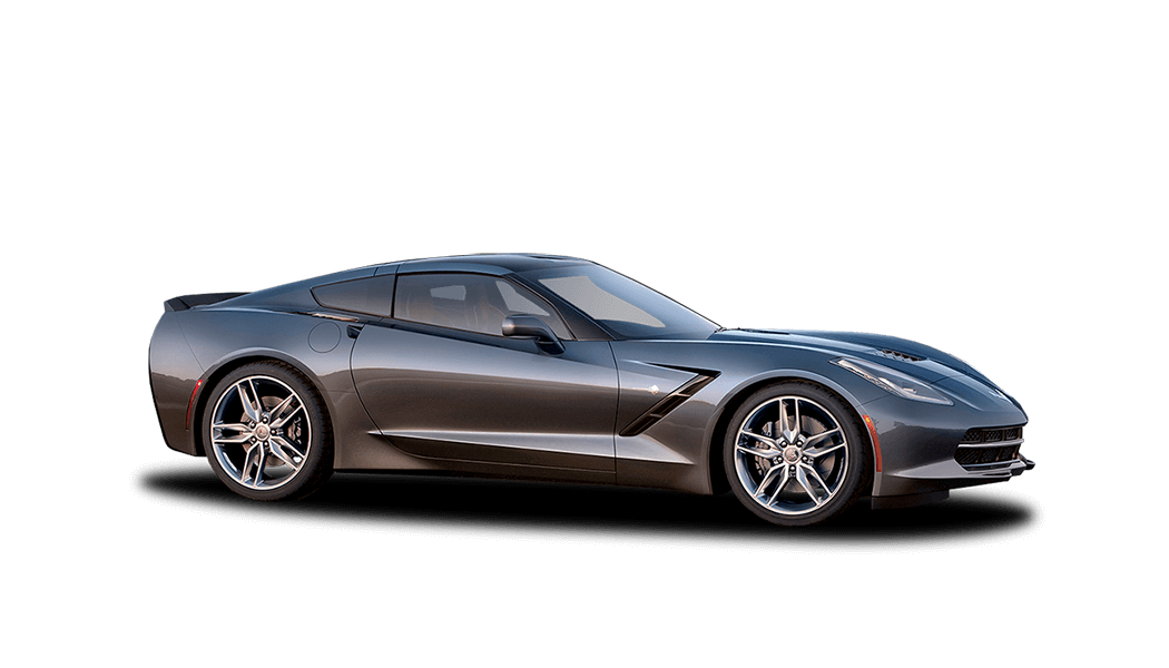 chevrolet corvette coupe grey 2015