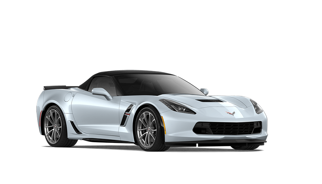 chevrolet corvette grand sport cabrio weiss 2018