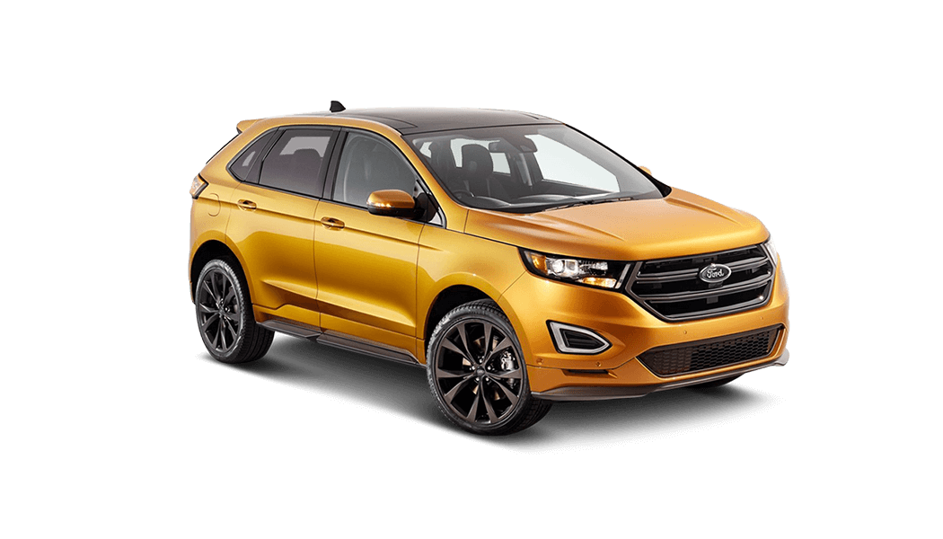 ford edge 5d gelb 2015