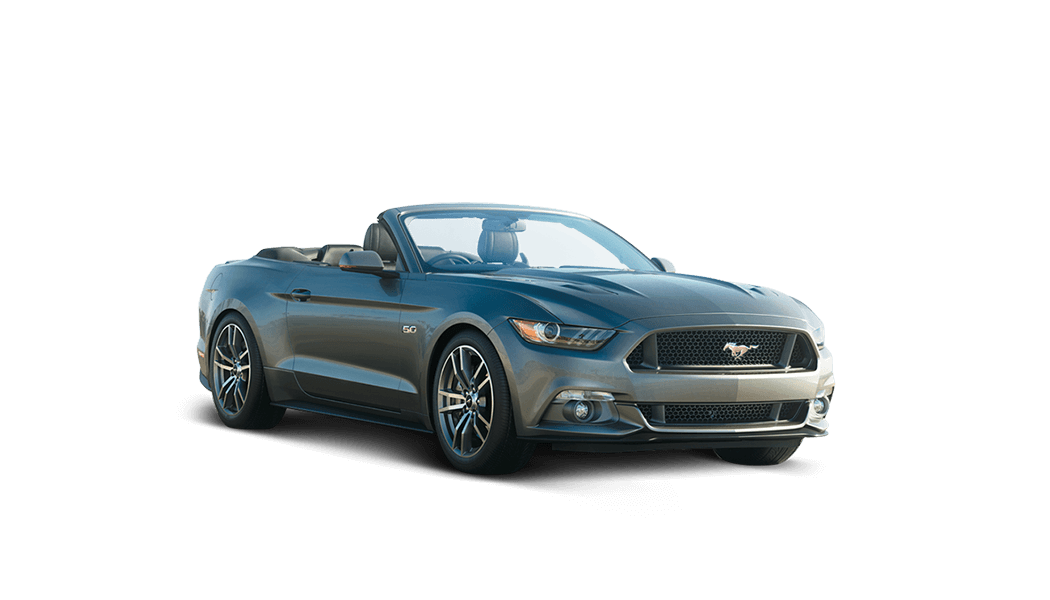 ford mustang cabrio 2d grau offen 2015