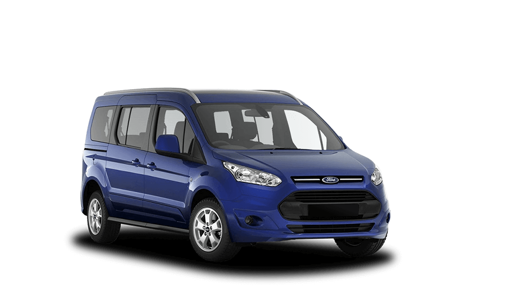 ford tourneo connect 5d blau 2018
