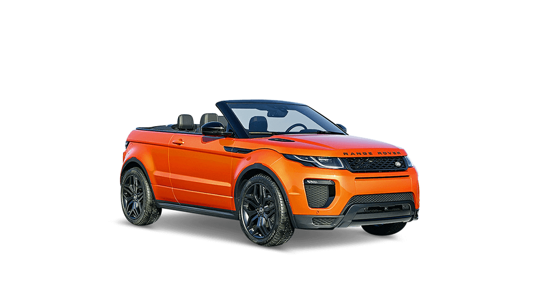 land rover range rover evoque cabrio orange 2016