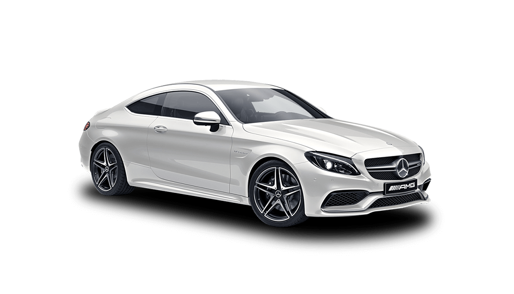 mb c63 amg 2d weiss 2018