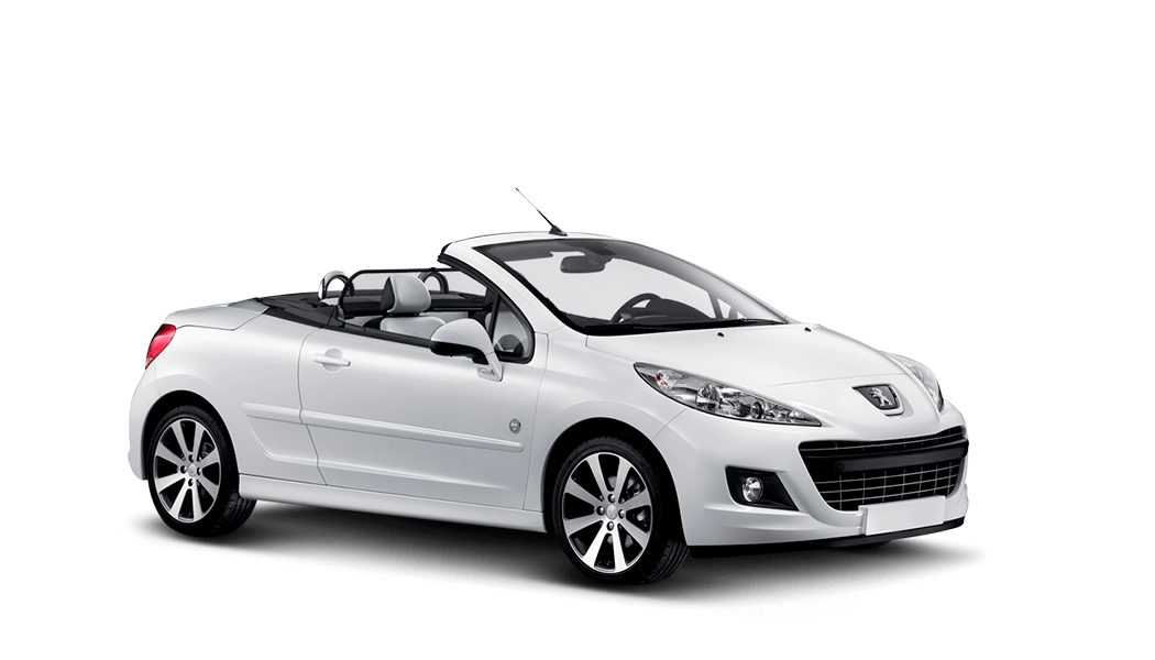 peugeot 207 cabrio 2d weiss 2011