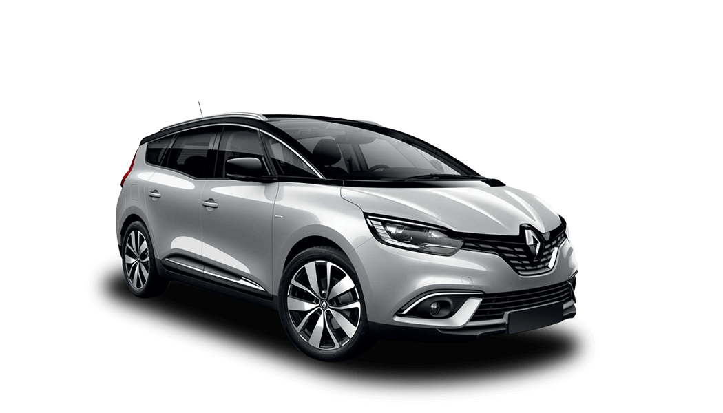 renault grand scenic 5d silber 2018