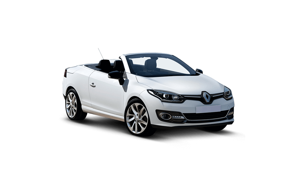 renault megane cabrio 2d weiss 2014