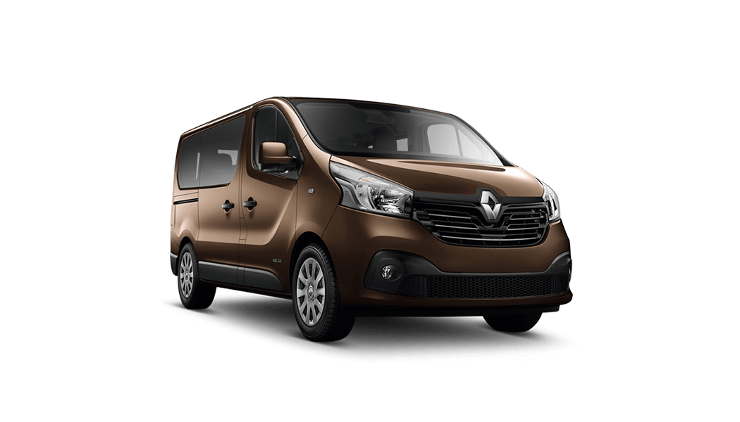 renault trafic van brown 2015
